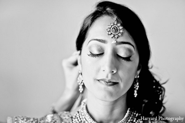 Indian wedding photography bridal makeup in Santa Monica, California Indian Wedding by Harvard Photography