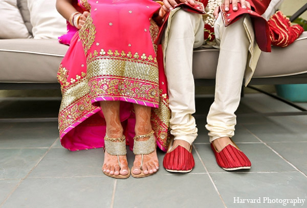 Indian wedding photography bride groom in Santa Monica, California Indian Wedding by Harvard Photography