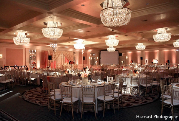Indian wedding reception decor venue in Santa Monica, California Indian Wedding by Harvard Photography