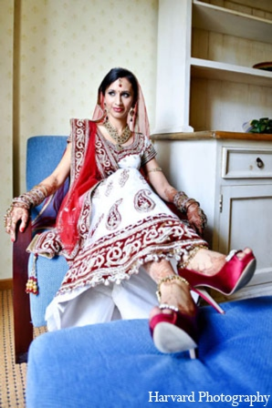 indian wedding bridal sari