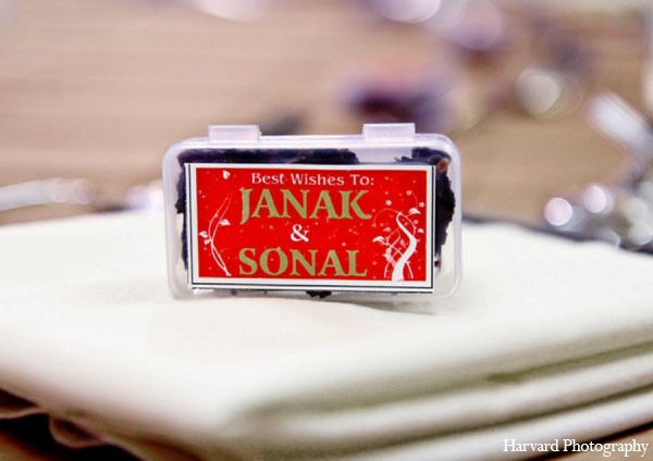 Indian wedding favors in Newport Beach, Cailfornia Indian Wedding by Harvard Photography