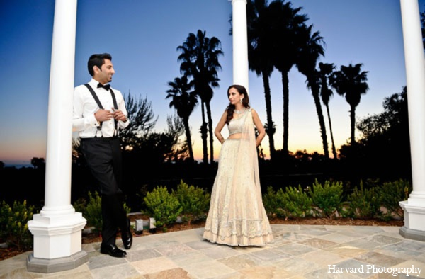 Indian wedding gown in Newport Beach, Cailfornia Indian Wedding by Harvard Photography