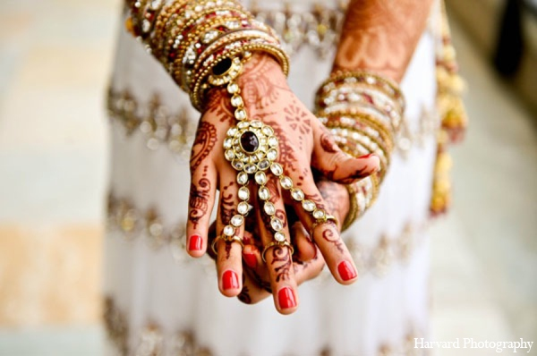 Indian wedding panja bracelet in Newport Beach, Cailfornia Indian Wedding by Harvard Photography