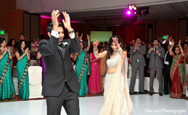 Indian wedding reception in Newport Beach, Cailfornia Indian Wedding by Harvard Photography