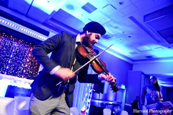Indian wedding reception music in Newport Beach, Cailfornia Indian Wedding by Harvard Photography