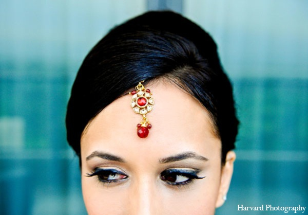 Indian wedding tikka in Newport Beach, Cailfornia Indian Wedding by Harvard Photography