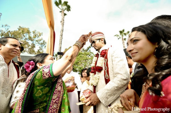 Indian wedding traditional baraat in Newport Beach, Cailfornia Indian Wedding by Harvard Photography