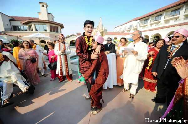 Indian wedding baraat in Huntington Beach, CA Indian Wedding by Harvard Photography