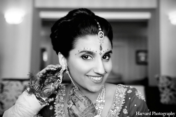 Indian wedding bride hair makeup in Huntington Beach, CA Indian Wedding by Harvard Photography