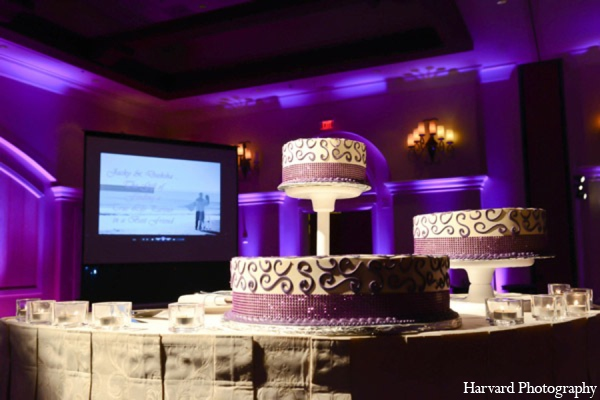 purple,white,black,cakes and treats,ideas for indian wedding reception,indian wedding decoration ideas,indian wedding ideas,Harvard Photography