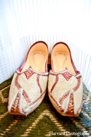Indian wedding groom shoes in Huntington Beach, CA Indian Wedding by Harvard Photography