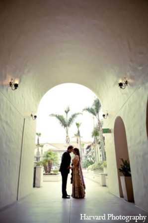 Indian wedding picture in Huntington Beach, CA Indian Wedding by Harvard Photography