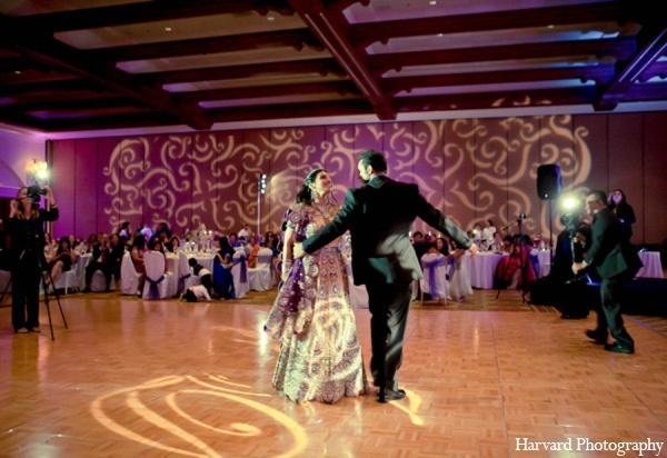 Indian wedding reception theme in Huntington Beach, CA Indian Wedding by Harvard Photography