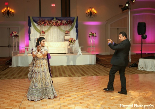 Indian wedding reception in Huntington Beach, CA Indian Wedding by Harvard Photography