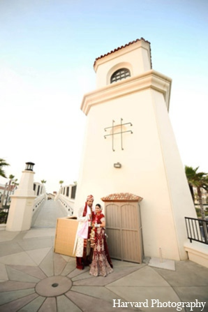 Indian wedding traditional clothing in Huntington Beach, CA Indian Wedding by Harvard Photography