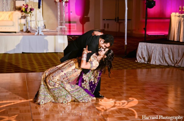 Indian wedding reception pictures in Huntington Beach, CA Indian Wedding by Harvard Photography
