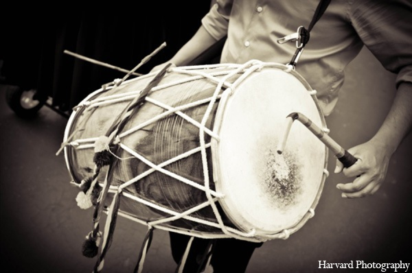Indian wedding baraat music in Yorba Linda, CA Indian Fusion Wedding by Harvard Photography