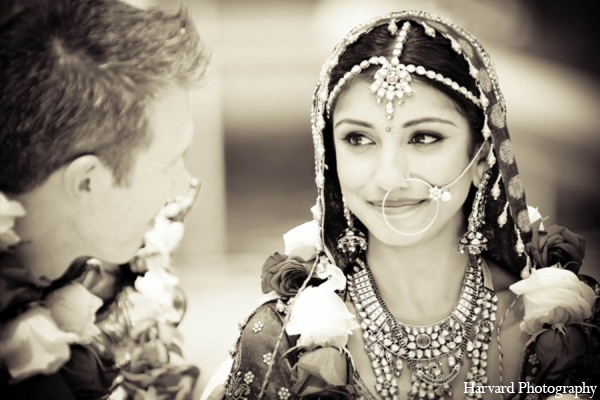 Indian wedding bridal accessories in Yorba Linda, CA Indian Fusion Wedding by Harvard Photography
