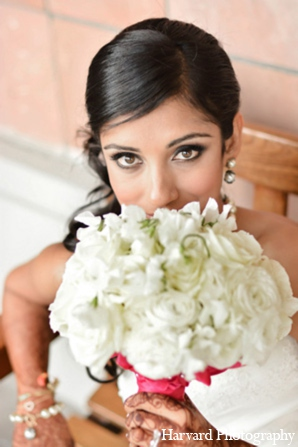 Hair & Makeup,portraits,bridal bouquet,traditional indian wedding,indian wedding traditions,Harvard Photography