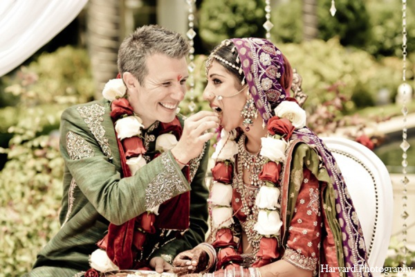 Indian wedding ceremony customs in Yorba Linda, CA Indian Fusion Wedding by Harvard Photography