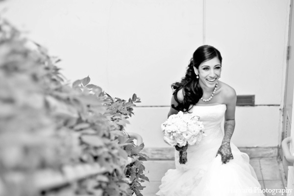 Indian wedding dress in Yorba Linda, CA Indian Fusion Wedding by Harvard Photography