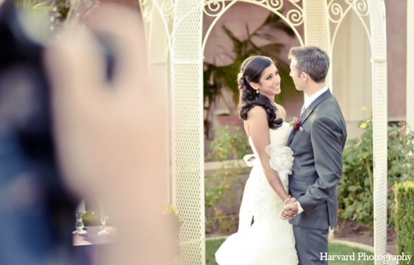 Indian wedding picture in Yorba Linda, CA Indian Fusion Wedding by Harvard Photography