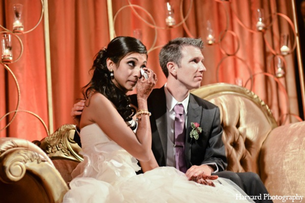 Indian wedding reception traditions in Yorba Linda, CA Indian Fusion Wedding by Harvard Photography