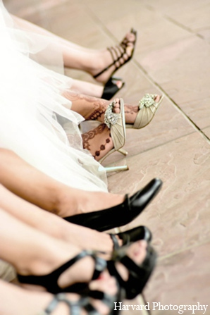 Indian wedding shoes in Yorba Linda, CA Indian Fusion Wedding by Harvard Photography