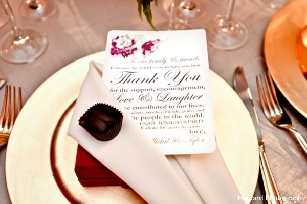 Indian wedding stationary in Yorba Linda, CA Indian Fusion Wedding by Harvard Photography