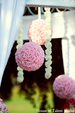 Floral mandap in Central Valley, New York Pakistani Wedding by House of Talent Studio
