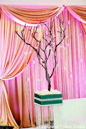 Indian sangeet decor in Central Valley, New York Pakistani Wedding by House of Talent Studio