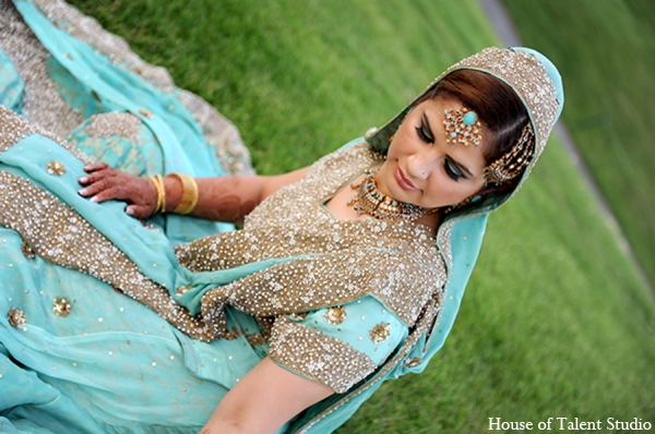 Indian wedding bridal outfit in Central Valley, New York Pakistani Wedding by House of Talent Studio