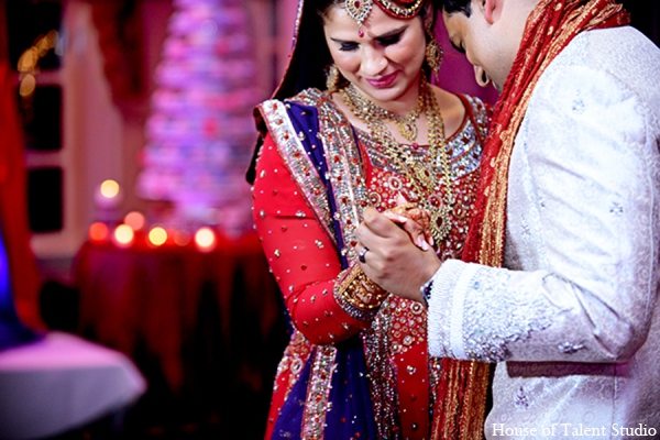 Indian wedding bride groom in Central Valley, New York Pakistani Wedding by House of Talent Studio
