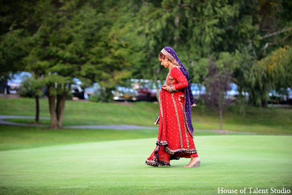 Indian wedding bride in Central Valley, New York Pakistani Wedding by House of Talent Studio