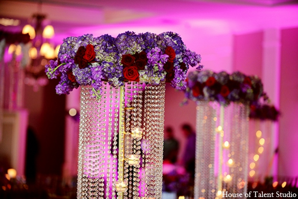 Indian wedding centerpiece in Central Valley, New York Pakistani Wedding by House of Talent Studio