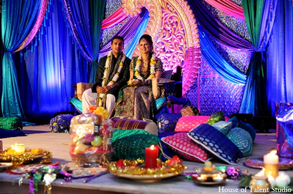 Indian wedding color palatte in Central Valley, New York Pakistani Wedding by House of Talent Studio