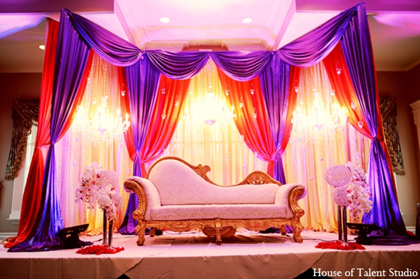 indian wedding lighting stage in central valley new york pakistani wedding by house of talent. Black Bedroom Furniture Sets. Home Design Ideas