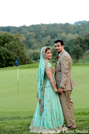 Indian wedding portrait in Central Valley, New York Pakistani Wedding by House of Talent Studio