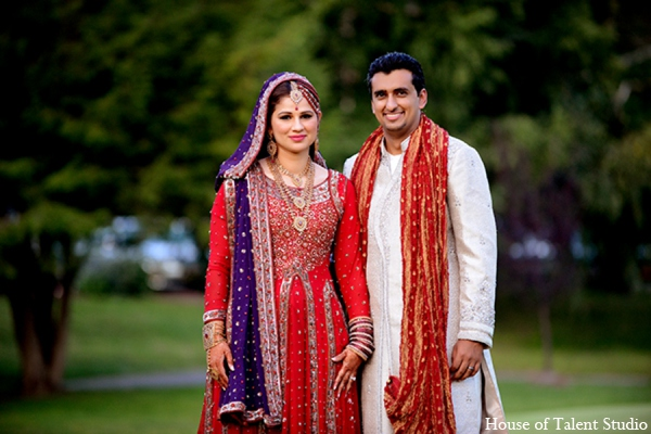 Indian wedding reception outfits in Central Valley, New York Pakistani Wedding by House of Talent Studio