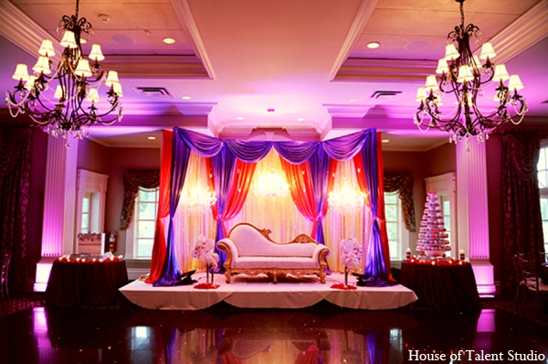 Indian wedding reception planning in Central Valley, New York Pakistani Wedding by House of Talent Studio