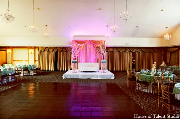 Indian wedding sangeet design in Central Valley, New York Pakistani Wedding by House of Talent Studio