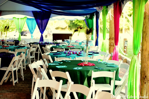Indian wedding sangeet outdoor in Central Valley, New York Pakistani Wedding by House of Talent Studio