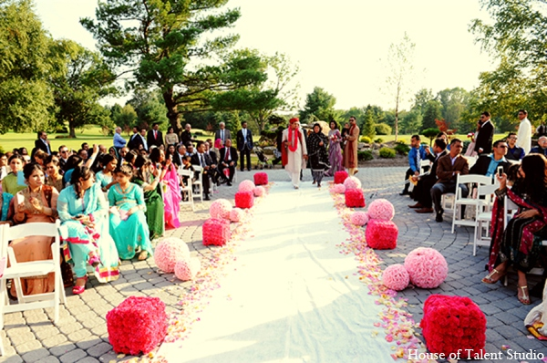 Outdoor pakistani wedding in Central Valley, New York Pakistani Wedding by House of Talent Studio