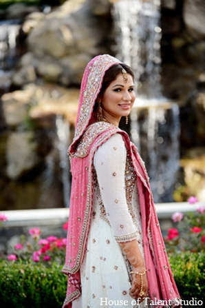 Featured Indian Weddings,bridal fashions,bridal jewelry,Hair & Makeup,Photography,portraits,House of Talent Studio,traditional pakistani wedding,pakistani wedding traditions