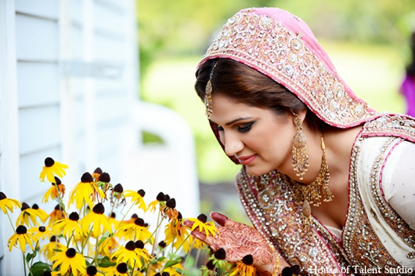Pakistani bride makeup in Central Valley, New York Pakistani Wedding by House of Talent Studio