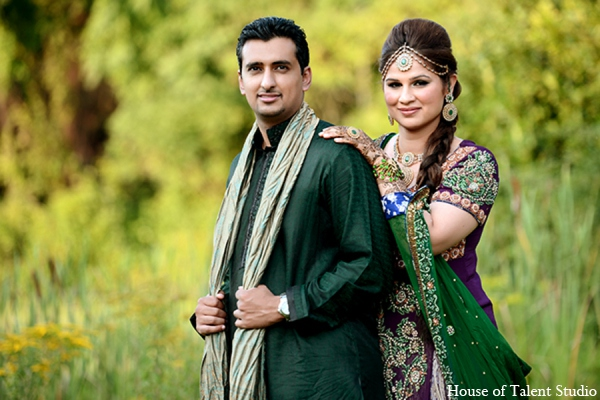 Pakistani groom bride in Central Valley, New York Pakistani Wedding by House of Talent Studio