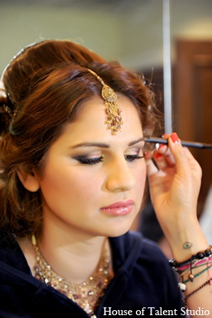 Pakistani wedding makeup in Central Valley, New York Pakistani Wedding by House of Talent Studio