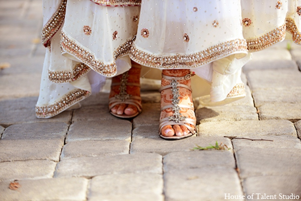 Pakistani wedding shoes in Central Valley, New York Pakistani Wedding by House of Talent Studio