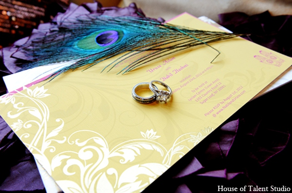 Pakistani wedding stationary in Central Valley, New York Pakistani Wedding by House of Talent Studio