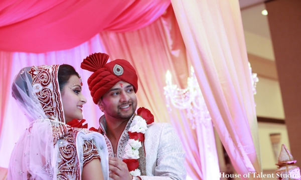 indian wedding bride groom mandap traditional ceremony